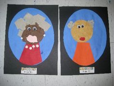 100th Day Celebration~last year I used Deanna Jumps unit and her creative ideas; one being making self portraits of how we would look when we're 100 years old!  LOL