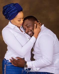 Man Rests On His Fiancee's Chest In Cute Pre-Wedding Photos - Romance - Nigeria Muslim Couple Photography, Outdoor Wedding Photography, Photo Romance, Barn Wedding Photos, Pre Wedding Poses, Disney Wedding Dresses, Groom Poses, Photo Couple, Black Couples