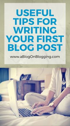 If you've been looking into Internet Marketing or making money online for any amount of time. First Blog Post Tips, Blog Tips, Blog Writing Tips, Writing Advice, Writing Desk, Writing Jobs, Writing Prompts, Seo Blog, What To Write About