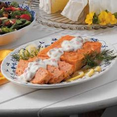 Salmon Loaf- Not sure about the olives with Pimentos...but the rest sounds like my mom's recipe