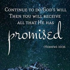 When you actively do God's will, you will automatically know God's will!