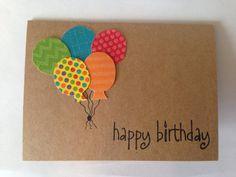 1 tarjeta de cumpleaños que también viene con una envoltura! El tamaño es de 5,5 en x 4,25 pulgadas (13.97 cm x 10.79 cm). Utilicé papel brillante para los globos, así que si usted piensa que usted ver un * chispa * tus ojos no son mentira!  Cada tarjeta está en blanco dentro para que usted puede dejar su propio mensaje personal. Si quieres algo personalizado dentro, por favor házmelo saber y puedo ver lo que puedo hacer.  Me avisas si tienes alguna duda.