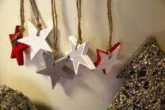 Malé drevené hviezdičky by sidumilu - SAShE.sk - Handmade Vianoce