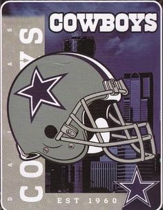 Dallas Cowboys NFL Helmet Fleece Throw Blanket * Check this awesome product by going to the link at the image. Dallas Cowboys Signs, Dallas Cowboys Football, Nfl Football Teams, Football Helmets, Sports Teams, Super Bowl, Fleece Throw, Fleece Blankets, Baby Blankets