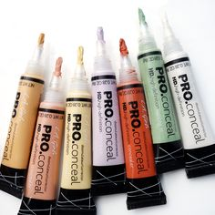 Line it up!  You already know these are the  best color correcting concealers!!   Shop here  http://www.ikatehouse.com/la-girl-conceal.html
