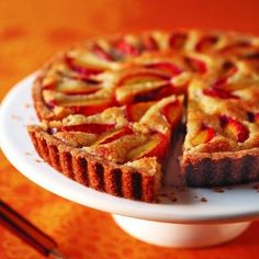 A sweet French plum fruit tart from our French chefs. Learn more authentic French dessert recipes on their gourmet dessert making and patisserie weekend in Toulouse, France.