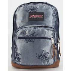 JanSport Right Pack Expressions Backpack ($64) ❤ liked on Polyvore featuring bags, backpacks, multi, suede backpack, suede bag, padded laptop bag, jansport backpack en knapsack bags