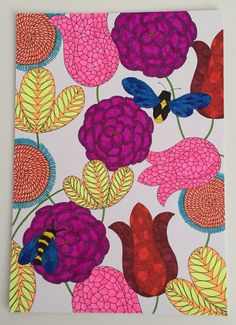 Millie Marotta Animal Kingdom Colouring Page See More Flower Garden