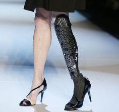 Prosthetic leg design