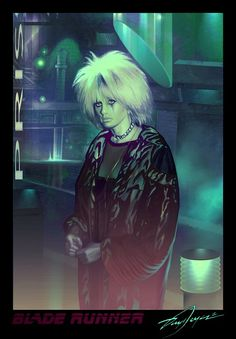 Pris from Blade Runner by Daryl Joyce (Harnois75)