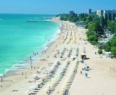 Golden Sands is one of the most frequented holiday destinations in Bulgaria. It has been declared a 'Blue Flag' Resort and so visitors can be assured of a beach and coastline free of pollutants