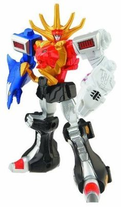 Power Rangers Super Megaforce - Wild Force Megazord Action Figure by Power Rangers [Toy]: Amazon.ca: Toys & Games