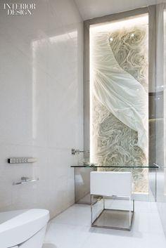 Fei Ultralounge at W Guangzhou hotel, VIP women's restroom by A.N.D. (Aoyama Nomura Design) _
