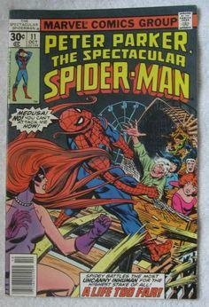 The Spectacular Spider-Man #11 (Oct 1977, Marvel) F/VF 7.0