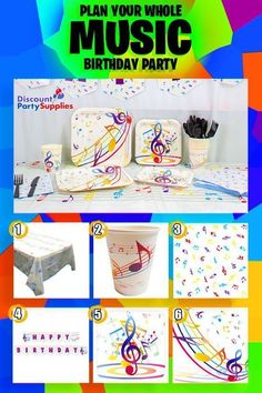 66 Best Music Party Ideas images in 2019 | Music party