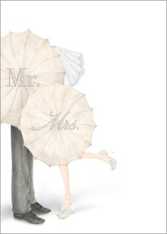 mr mrs umbrella