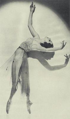 1920's Alexandra Danilova, prima ballerina - Russian-born who became an American citizen
