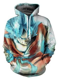 Anime Dragon Ball Super Goku and Vegeta Hoodie Men Clothing Hoodie Sweatshirt