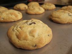 Fluffy, Soft & Chewy Chocolate Chip Cookies