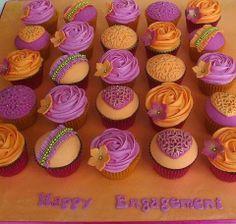 ruffles and hearts cupcakes