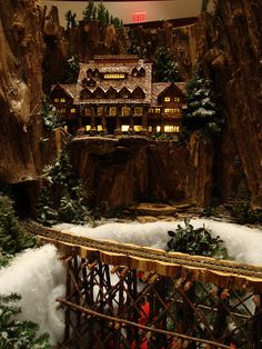 OK, so it's part of a model train set...It's still magical.  http://vur.me/s/model-train-club