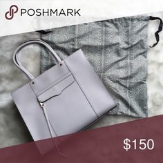 Rebecca Minkoff Medium MAB Tote LIKE NEW Rebecca Minkoff Medium MAB Tote in Lilac✨Only used once! Perfect condition! Comes with dust bag & extra tassel. Rebecca Minkoff Bags