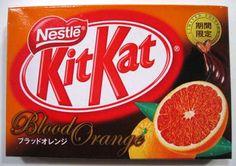 KitKat Blood Orange Package