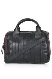 Perforated Leather Holdall