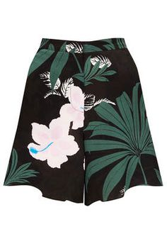 Jungle Silk Shorts By Boutique