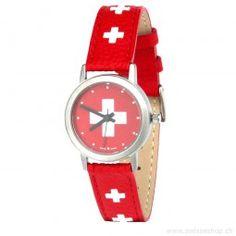 Armbanduhr CH-Kreuz / Swiss Watch with Swiss Cross