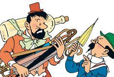 Captain's dream - Tintin in Tibet