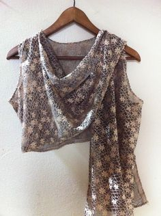 Wrap Shrug free sewing pattern and Instructions