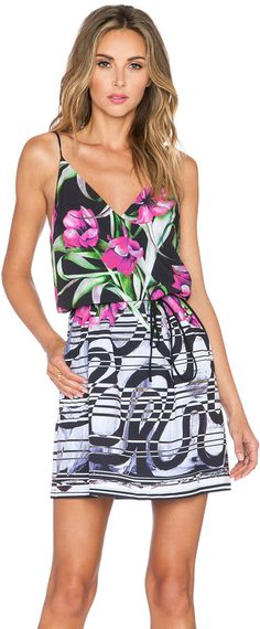 Clover Canyon Dancing Tulips Dress