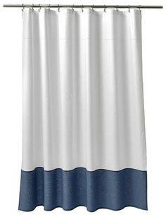 Attractive Fieldcrest Oxford Stitch Shower Curtain (72 Images