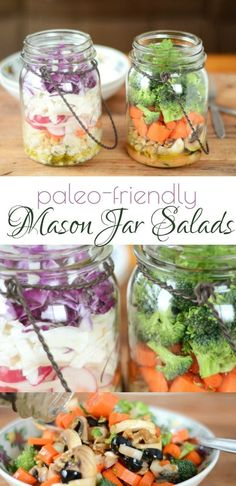 If you've never tried making Mason jar salads, you totally should! It's an awesome way to pre-make your lunch. Mason jar salads include the dressing, fixings, and greens all in a portable container that you just dump out and mix when you're ready to eat!  #agirlworthsaving #masonjarsalads #salads #summersalads #lunchsalads #healthylunch