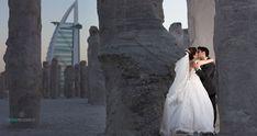 """Polubienia: 296, komentarze: 2 – Dubai Wedding Photographers (@dubai_wedding_photographer) na Instagramie: """"Our #amazing couple Mahnaz & Nima on #prewedding #session in #Dubai #BurjAlArab #hotel Wedding…"""""""