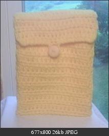 Crocheted Lunch Sack/Bag free crochet pattern