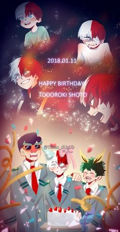 Todoroki Shouto's Birthday [1.11]♡