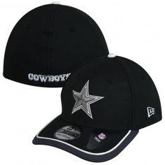 Dallas Cowboys New Era NFL Sideline 39Thirty Hat (Black)