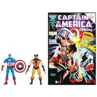 #MARVEL'S Greatest Battles Comic Packs: WOLVERINE and CAPTAIN AMERICA