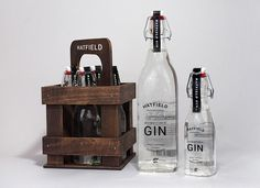 Hatfield Hometown Gin - Daily Package Design InspirationDaily Package Design Inspiration |