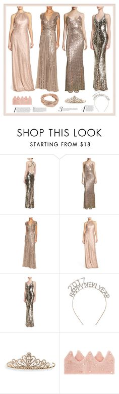 """""""Chic Dance Party!"""" by yours-styling-best-friend ❤ liked on Polyvore featuring Jenny Packham, Badgley Mischka, Amsale, BillyTheTree, Monsoon and NLY Accessories"""