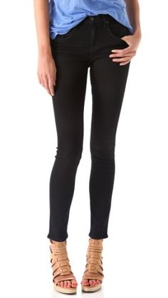 Rag and Bone black skinnies; quality and fit come recommended~!