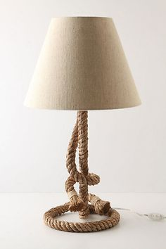 I love things that are inspired by boats (I blame my Dad for this), and this lamp is a beautiful way to bring a boat-y feel to a room.