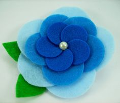 Felt Cabbage Roses PDF Tutorial .. No sewing by aSundayGirl