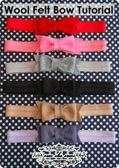Girls camp hat craft: these would be darling bows in a set of 3 and stuck onto the hat either straight up and down or diagonal.