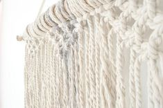 Gorgeous macrame wall hanging to lend a bohemian feel to your bedroom, living Room or workspace, this macrame will add instantly warmth and texture to any room of your house! All of my macrames are handmade with love by myself  24 x 26, 61cm x 66cm incloud the wood made with 100 % natural cotton rope  ^^^^^^^^^^^^^^^^  CUSTOM ORDERS: Want a smaller or larger size? Or a different style or color that represents you or a loved one? Just send me a convo.  ^^^^^^^^^^^^^^^^^  Please contact me for…