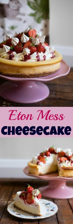 Eton Mess Cheesecake and Thornback & Peel Giveaway - Patisserie Makes Perfect