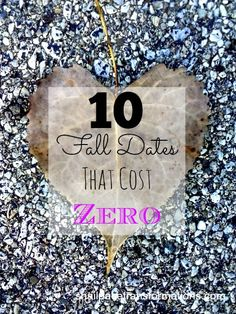 10 fall dates date ideas that cost zero, because couples on a tight budget need date night too.