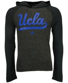 492e632ea adidas Men s Long-Sleeve Ucla Bruins Ultimate Hooded T-Shirt Sport T Shirt